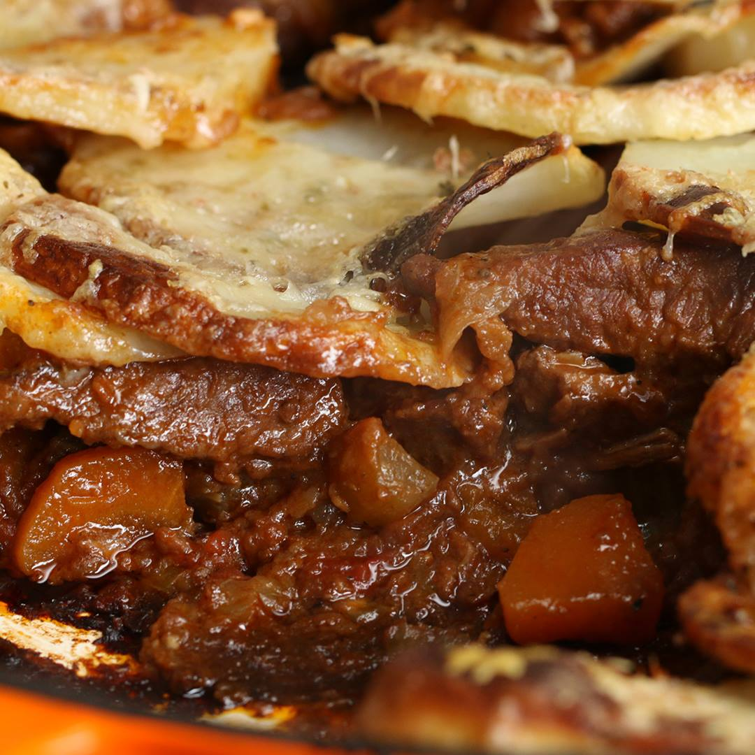 Beef stew gratin cooking tv recipes author the chef forumfinder Gallery