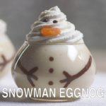 Snowman Eggnog