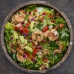 This Shrimp And Avocado Taco Salad Is Delicious And Low-Carb