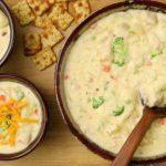 Loaded Chicken Potato Soup