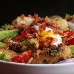 Honey Mustard Chicken, Bacon, And Avocado Salad