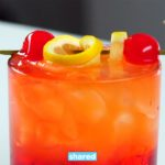 Give Yourself A Treat, Try This Malibu Sunset Cocktail