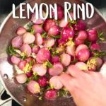 Radishes in Browned Butter and Lemon