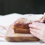 Cheesecake-Stuffed Banana Bread