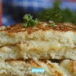 You Won't Miss the Bread with This Delicious Low Carb Cauliflower Grilled Cheese
