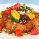 Greek Chicken Cutlets