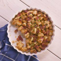 Chicken Spinach Feta Pie
