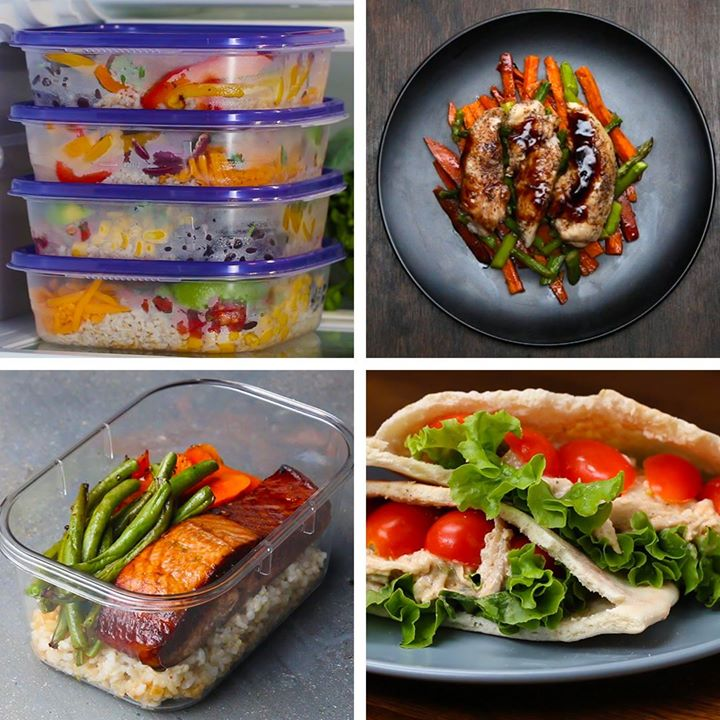 Lunch meal prep 5 ways cooking tv recipes forumfinder Gallery