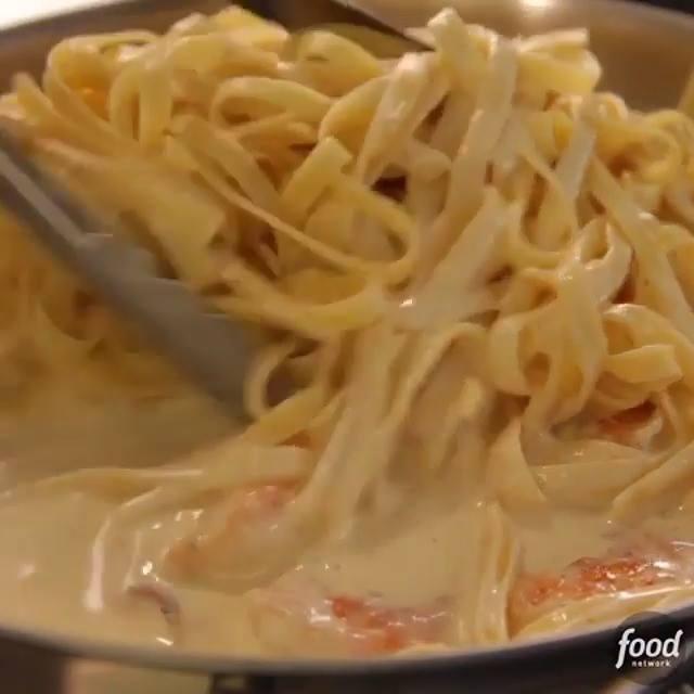Shrimp Fettuccine Alfredo Cooking Tv Recipes