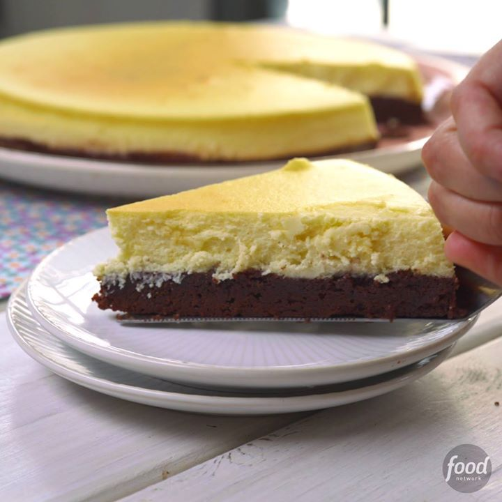 Brownie bottom cheesecake cooking tv recipes author the chef forumfinder