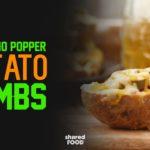 Spicy, Smokey, Cheesy and Just Amazing! Jalapeno Popper Potato Bombs!