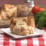 Deep Dish Pizza Bread Bowl, the Easiest Pizza You'll Ever Make!