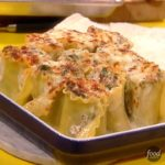 Spinach and Mushroom Lasagna Roll-ups with Gorgonzola Cream Sauce