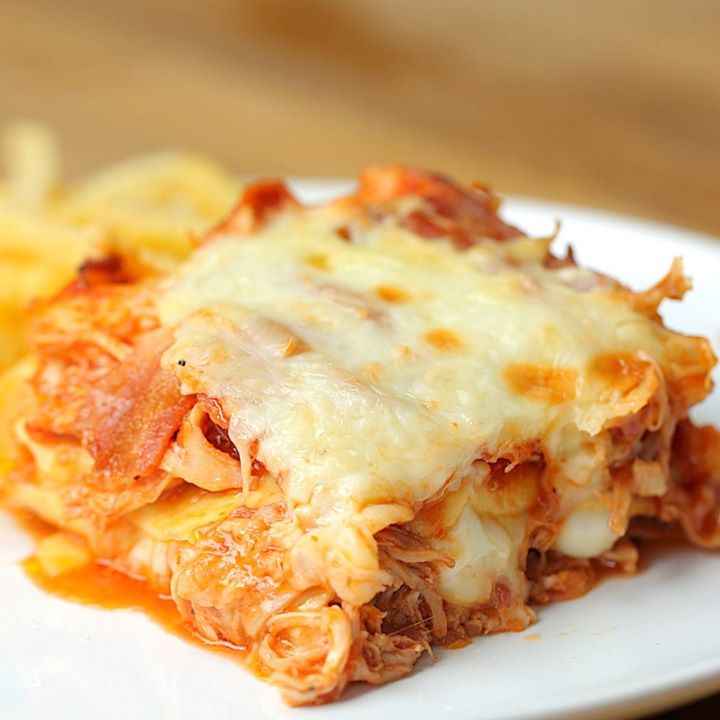 Hunters chicken lasagna cooking tv recipes forumfinder Image collections