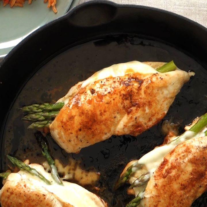Asparagus Stuffed Chicken Breast Recipe