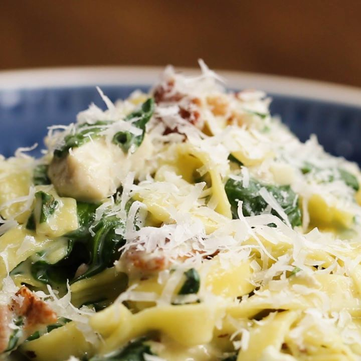 Chicken alfredo cooking tv recipes author the chef cuisine american forumfinder Image collections