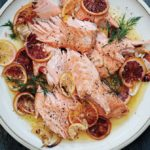 Slow-Roasted Salmon with Fennel, Citrus, and Chiles