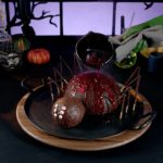 Hidden Horror Black Widow Cake