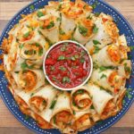 Blooming Quesadilla Ring