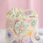 Spirograph Cake