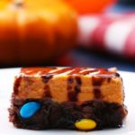 Pumpkin Cheesecake 'Box' Brownie Bars