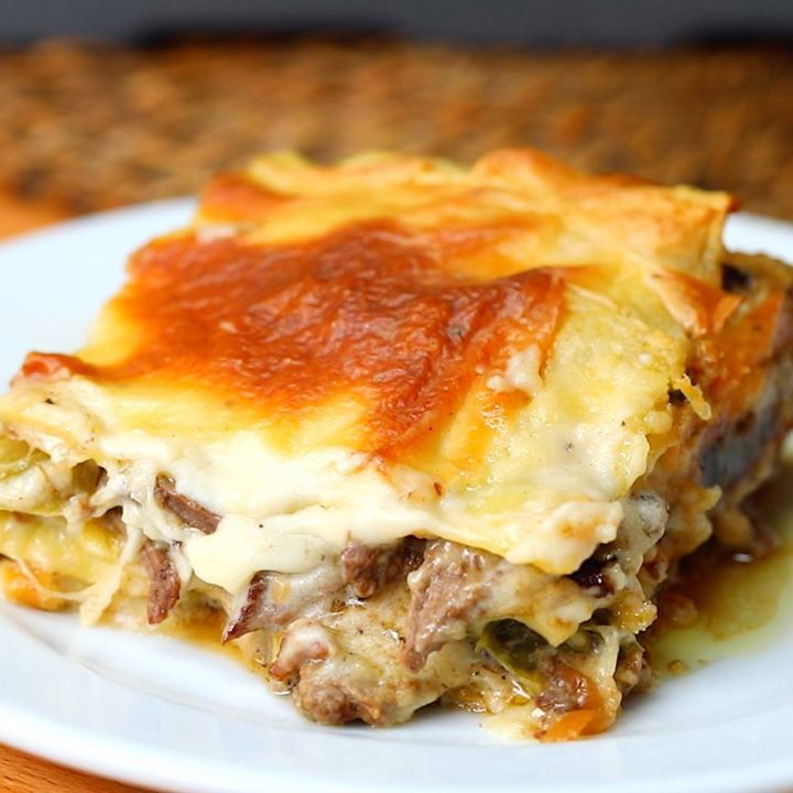 Philly Cheesesteak Lasagna Cooking Tv Recipes