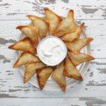 Mashed Potato Wontons