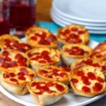 Mini Garlic Bread Pizza Cups