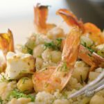 Greek Shrimp and Couscous