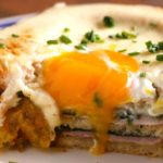 Ham Cheese Egg In The Hole Layered Bake
