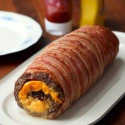 Hot Dog Camembert Dip Ring