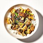 Tofu and Mushroom Stir-Fry