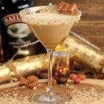 Baileys Salted Caramel Cheesecake Martini