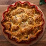 Cinnamon Swirl Apple Pie