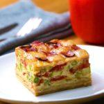 Ham And Cheese Lattice Quiche