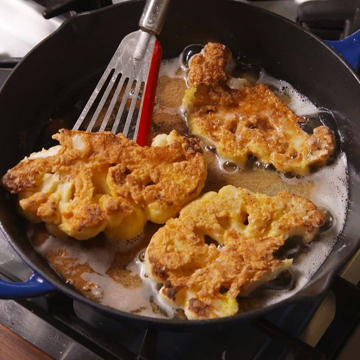 Chicken Fried Cauliflower Cooking Tv Recipes