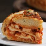Chicken Parmesan Bread Bowl