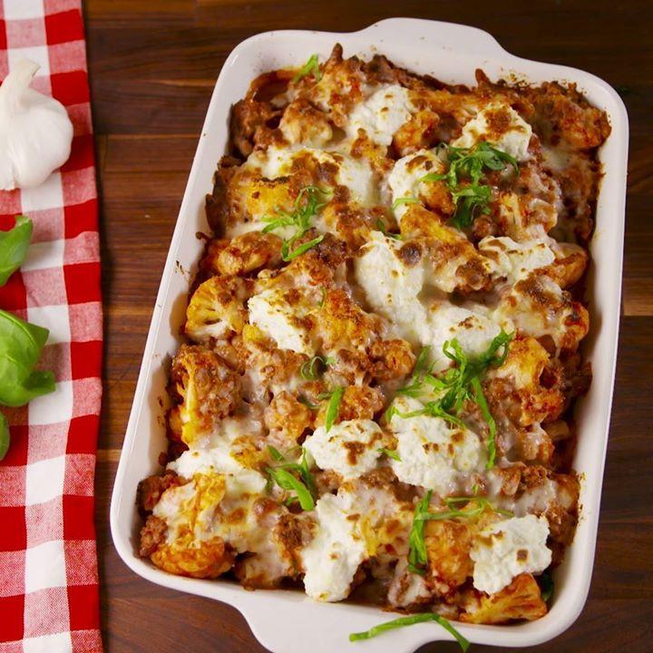 Cauliflower Baked Ziti Cooking Tv Recipes