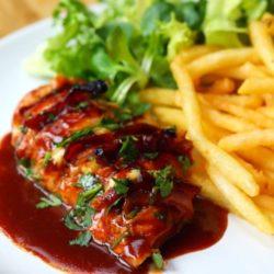 Garlic Knot Crust Lasagna