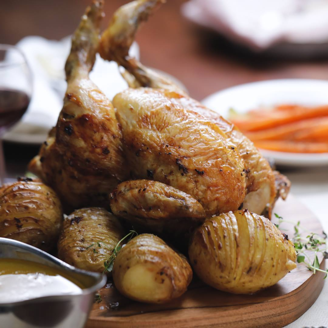 Roast Chicken In A Bundt Tin Cooking Tv Recipes