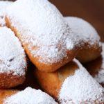 Peach Cobbler Stuffed 'Beignets'