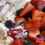 Two-Berry Pavlova