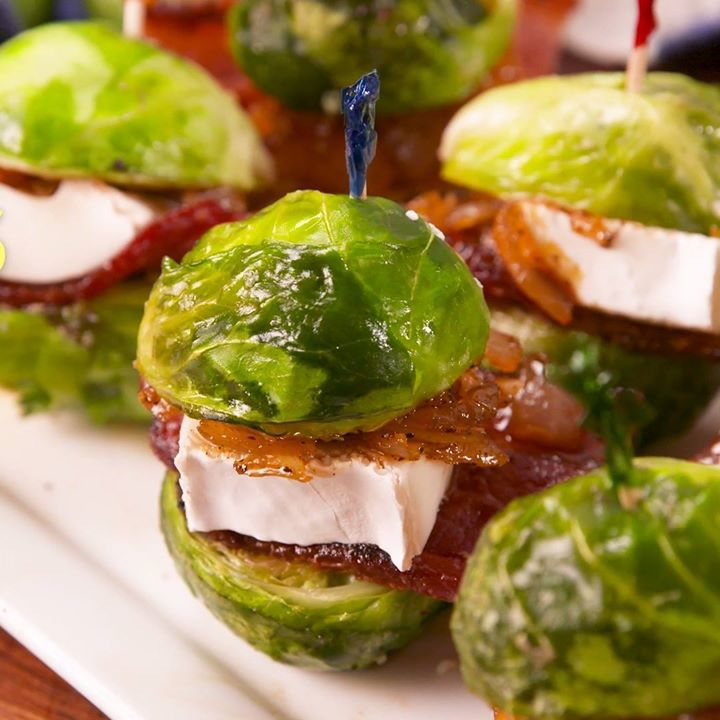 Brussels Sprouts Sliders Cooking Tv Recipes