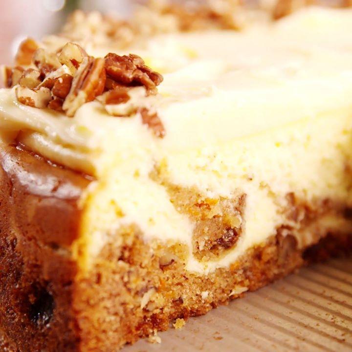 Carrot Cake Cheesecake Cooking Tv Recipes