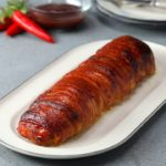 Bacon Wrapped BBQ Chicken Roll