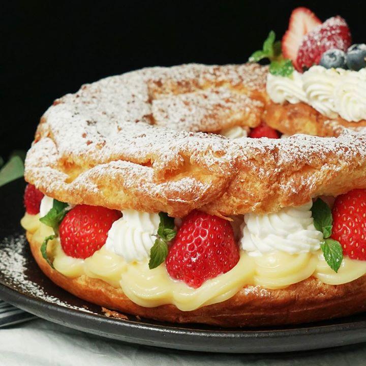 Paris Brest Cake Recipe