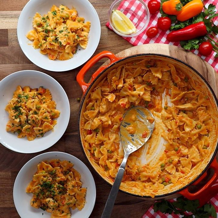 One pot paella pasta cooking tv recipes forumfinder Images