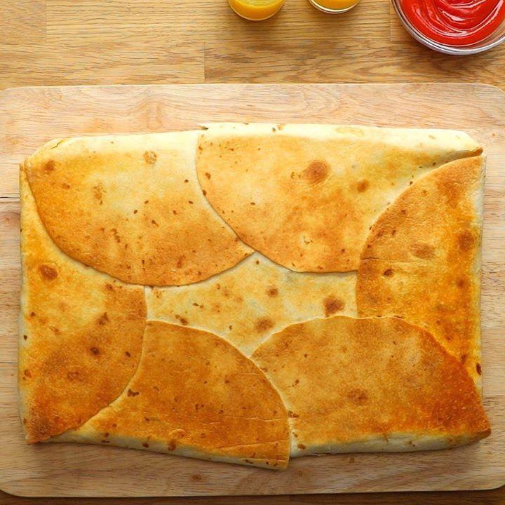 Sheet Pan Breakfast Crunchwrap Cooking Tv Recipes