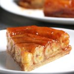 Upside-Down Banana Tart