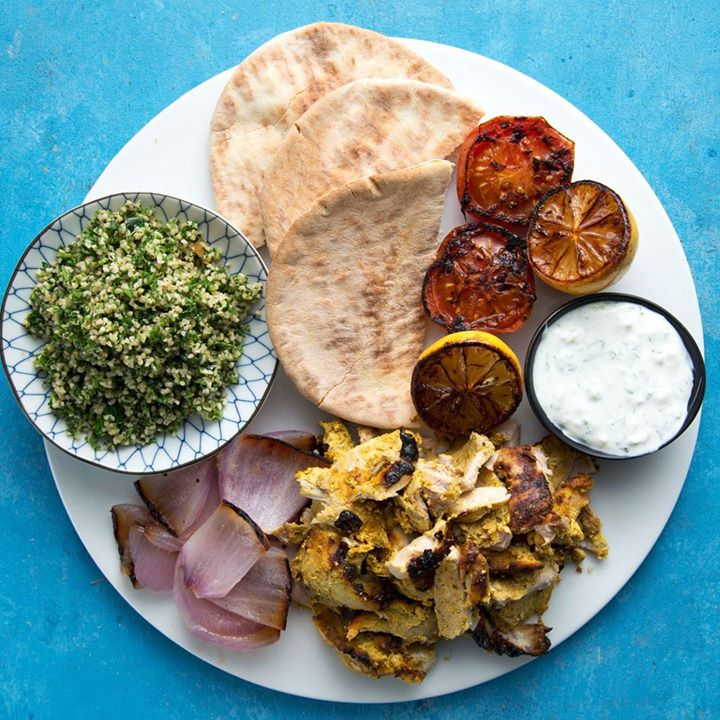 Homemade chicken shawarma cooking tv recipes forumfinder Images